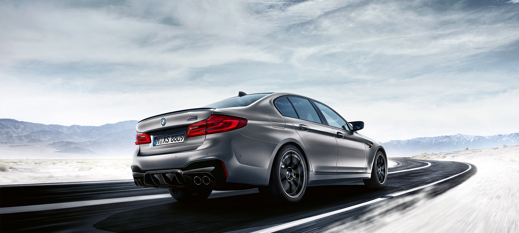Detalles y Datos del BMW M5 Competition.